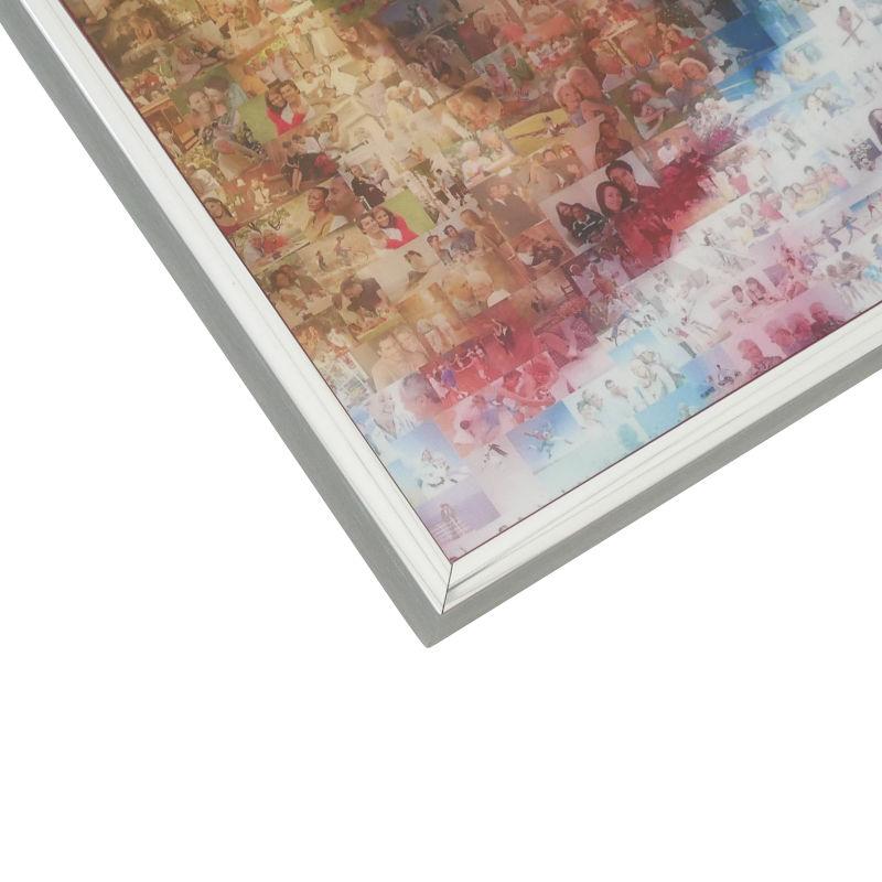 Mosaik AluRahmen metallic