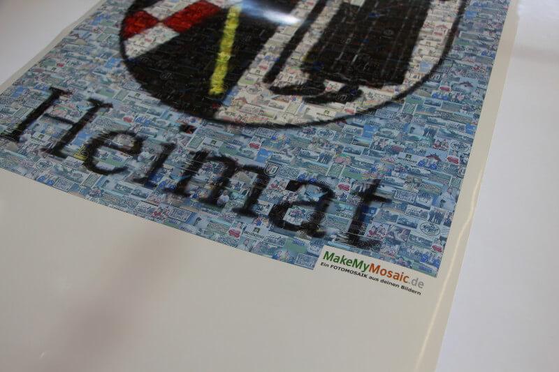Poster Mosaik Produktion