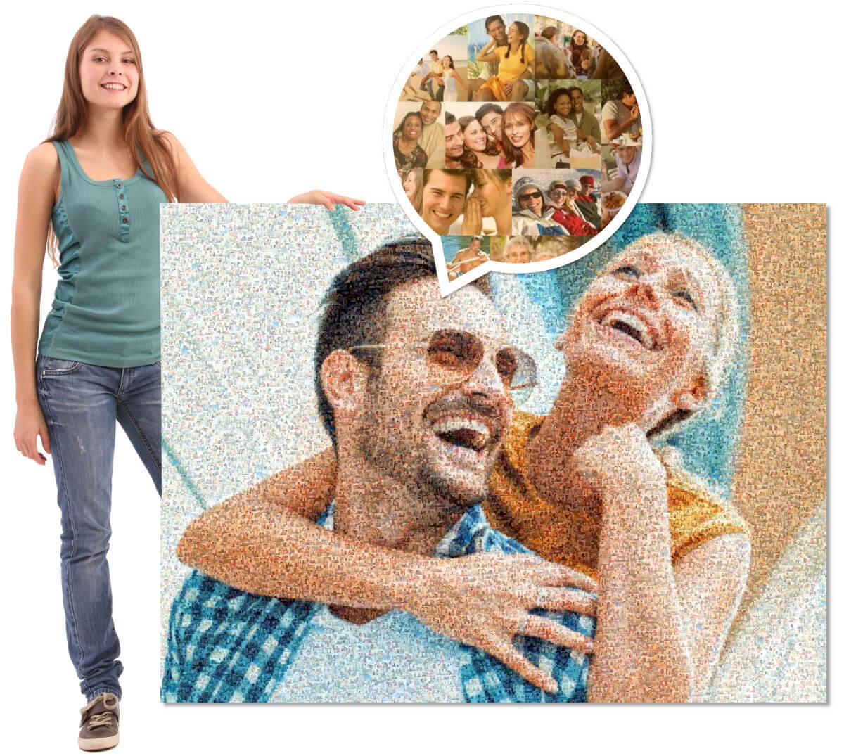 Mosaikbild erstellen
